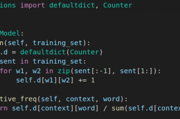 ultra concise code with python